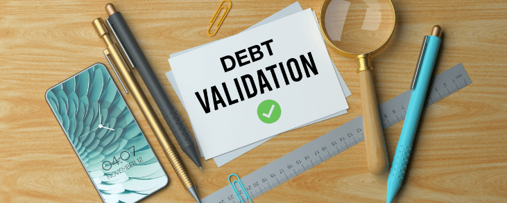 what is proof of debt validation